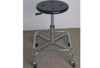 Antistatic PU Bubble Stool with Foot Ring